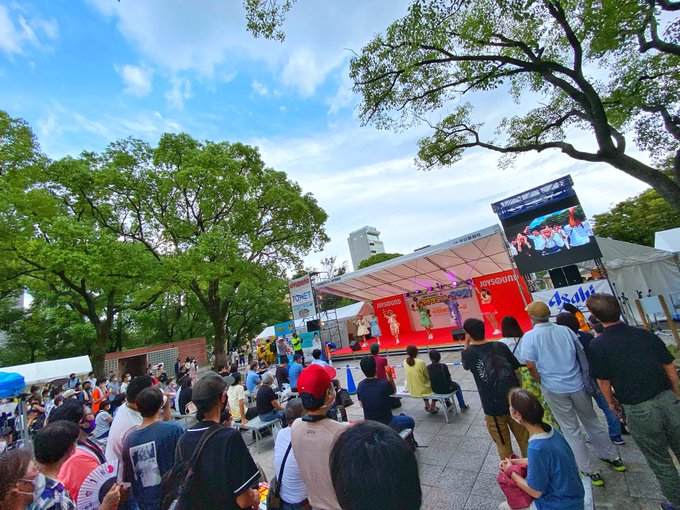 日本一の手羽先を決めるイベント「手羽先サミット2021」にナト☆カン、アステリアが出演しました