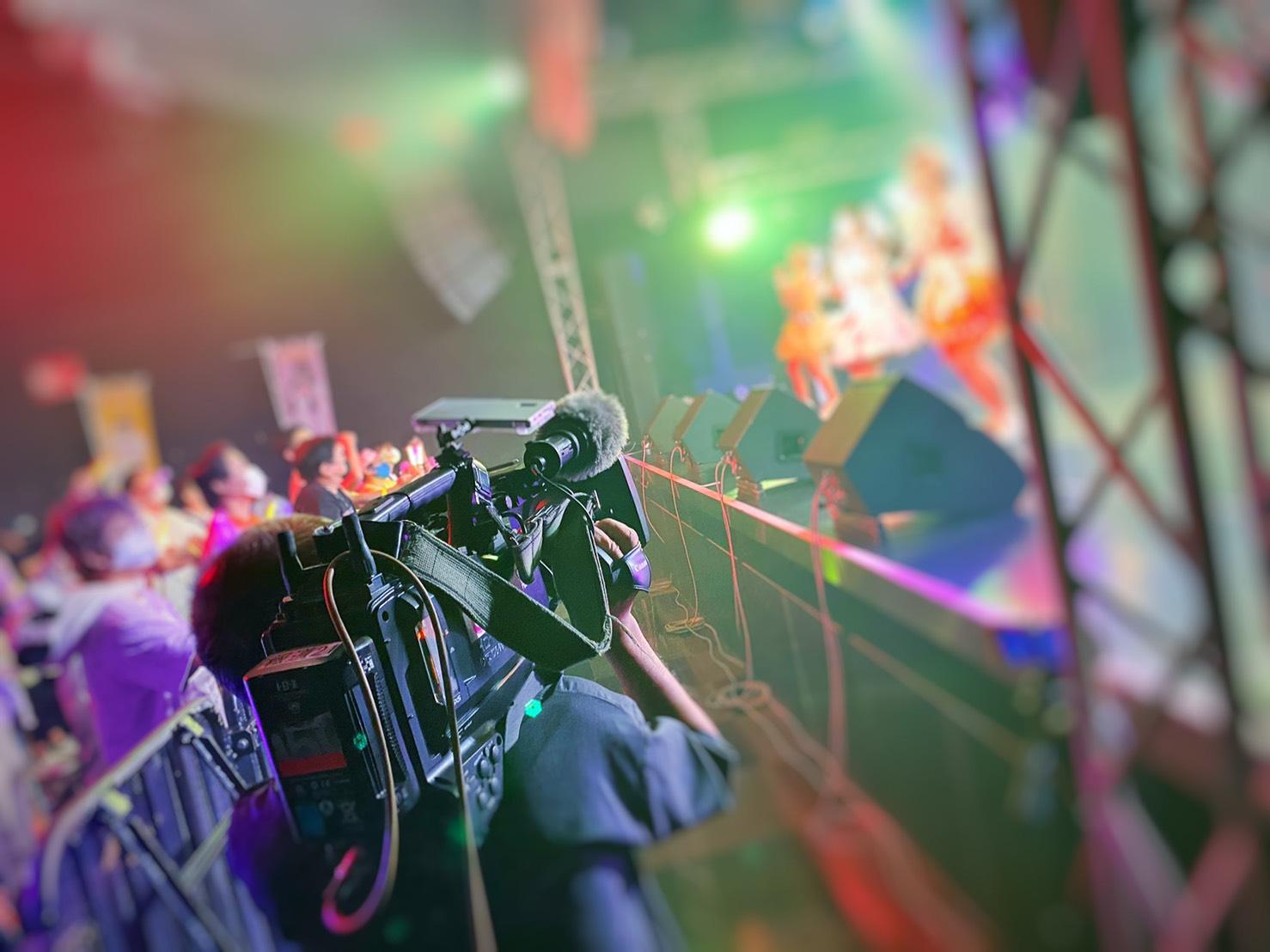 中京テレビ「キャッチ!」にてナト☆カンワンマンライブの様子が放送されました。